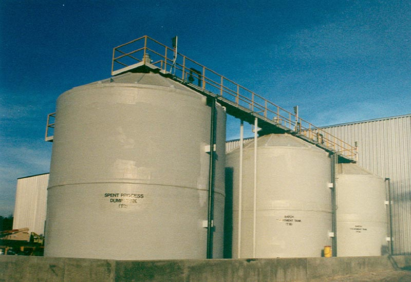 FRP Wastewater Treatment Tanks